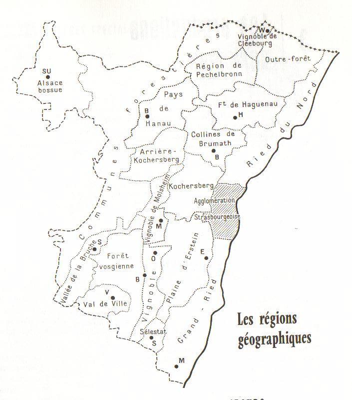 carte administrative 67